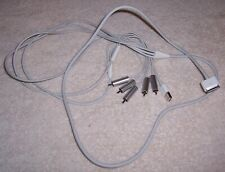 iPod / iPhone Audio / Composite Video / USB Cable