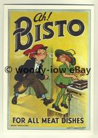 ad3401 -  Bisto - Classic Bisto Children AH! Bisto -  Modern Advert Postcards