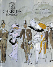 'Christies London 1988: Cecil Beaton'