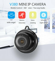 HD 1080P Wifi Mini IP Camera Wireless Security Camcorder IR Night Vision DV DVR