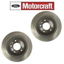 For Ford Explorer Lincoln MKS Pair set of 2 Front Disc Brake Rotos Motorcraft