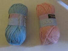Baby Yarn from Sterling Collection. Sold by the Skein. 4 Colors. Cotton.