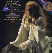 EVA MARTON Strauss SALOME dance & final Four last song - Davis - LP CBS sealed