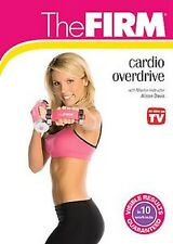 The FIRM - CARDIO OVERDRIVE (DVD) workout Alison Davis burn calories SEALED NEW