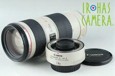 Canon EF 70-200mm F/4 L IS USM Lens + Extender EF 1.4x II #19002