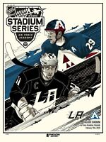 Colorado Avalanche 2020 Stadium Series Event Limited Edition Serigraph Print