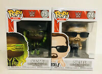 Funko Pop WWE Naomi And Diesel Lot Of 2