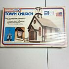 Life Like HO Scale Model Kit  #1350 Town Church new in Box