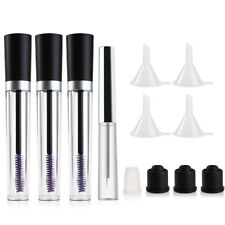 Set of Empty Mascara Tube Eyelash Cream Bottles + Eyeliner Bottle Containers AU