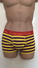 """MENS BOYS CAVAILIA HIPSTER STRETCH BOXERS STRIPPED UNDERWEAR SMALL 28""""-30"""""""