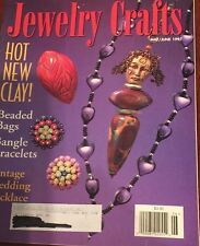 Vintage Jewelry Crafts Magazine May/June 1997 Hot New Clay Beaded Bags