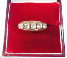 9 Carat Yellow Gold Ring Art Nouveau Fine Jewellery
