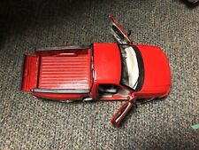 1999 Burago Ford Svt F150 Diecast Lightning 1/21 Scale Truck Red Made in Italy