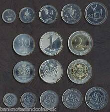 Georgia Full Coin Set 1+2+5+10+20+50 Tetri 1+2 Lari Unc 200_Other_Coin_Sets_Here