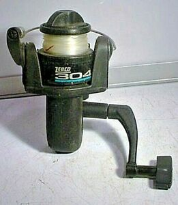 VINTAGE / PRE-OWNED ZEBCO 304 FISHING REEL - AS FOUND !
