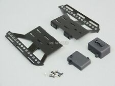 For Axial SCX10 II Side Guard SKID PLATES Left + Right   BLACK