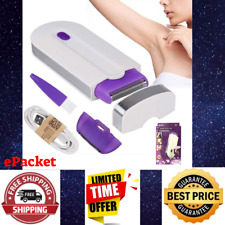 NEW GentleGlide Painless Hair Removal Kit Women Quick Shaver Body Face Shaving