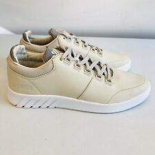 *BNIB* K Swiss Mens Oyster Gray/White Aero Trainers UK 8 | EUR 42 | US 9