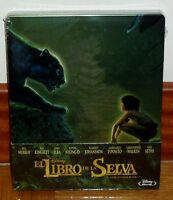 EL LIBRO DE LA SELVA THE JUNGLE BOOK STELBOOK BLU-RAY PRECINTADO SEALED NUEVO R2