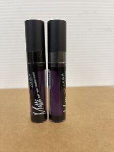 L.A Girl Matte Flat Finish Pigment Lip Gloss. Black Currant. New.