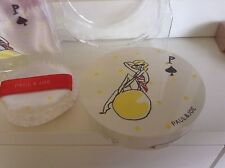 Paul & Joe Limited Edition Summer Powder Compact And Pouch Bag New No Powder