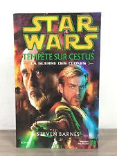 Star Wars Tempête Sur Cestus La Guerre Des Clones / Livre Presses De La Cité