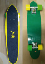 "Vintage 1970s MPI Old School Complete Cruiser Skateboard Deck Fiberglass - 27"""