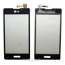 "LG E460 Optimus L5 II Black Digitizer Touch Screen Lens Glass Pad ""UK"" + tools"