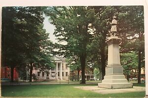 Pennsylvania PA Wellsboro Tioga County Court House Postcard Old Vintage Card PC