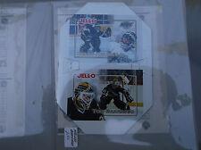 1995-96 Kraft Hockey Kraft JELL-O JELLO KELLY HRUDEY TOM BARRASSO PANEL