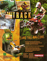 Namco ATV TRACK 2002 Original NOS Video Arcade Game Promo Sales Flyer Motorcycle