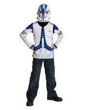"""Bambini Clone Trooper Star Wars Costume in alto, medio, età 5 - 7, altezza 4' 2"""" - 4' 6"""""""
