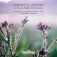 University of Aberdeen Chamber Choir and Paul Mealor - Immortal [CD]