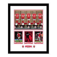 Arsenal Autographed Football Prints