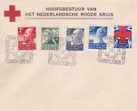 Cover NEDERLAND 1927 RED CROSS SPEC POSTMARK/ COVER