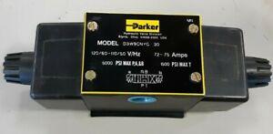 PARKER D3W9CNYCS330 Hydraulic Directional Control VALVE 110 Volt