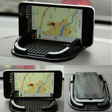 Car Anti-Slip Pad Mat Non Skidproof Holder Stand For iPhone GPS Cell Phone Black