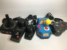 Namco Joystick Ms. Pac Man Plug N Play LOT 5 in 1 TV Arcade Game-Free Shipping