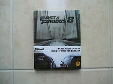 The Fate Of The Furious (2017, Blu-ray) White Steelbook / fast 8