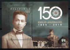 Philippines Politicians Stamps 2019 MNH Emilio Aguinaldo Presidents 1v M/S