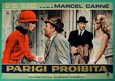 T48 FOTOBUSTA PARIGI PROHIBIDO MARCEL CARNE' DANY SAVAL PAUL MAURISSE DELAIR 4