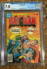 "Batman #293 (Nov 1977) CGC 7.0 ""The Testimony of Luthor!""; Jim Aparo NEWSSTAND"