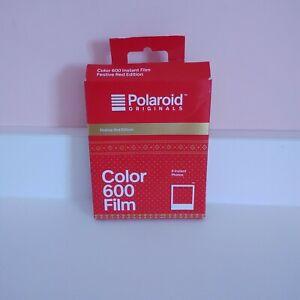 Polaroid Originals 600 Colour Instant Film Festive Red Edition - 8 Instant Photo