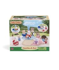 Calico Critters Seaside Merry-Go-Round Brand New In Box!