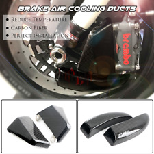 100mm Carbon Fiber Duct Caliper Brake Cooling for DUCATI 1199 PANIGALE S 12-14