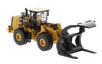 1/87 Caterpillar Diecast Wheel Loader 972M Model W/ Log Fork Masters #85950 Toy