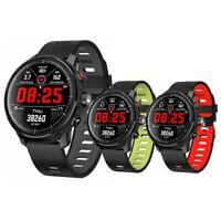 """Microwear L5 Waterproof IP68 Smart Watch Heart Rate Monitor Sports Bracelet 1.3"""""""