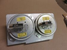 Trane  Furnace Pressure Switch 2 STAGE SET Part#  C340771P01 and C340191P02