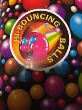 1000 Super Bouncy Balls Bulk Toy Vending Gumball Machine 27mm 1 Superballs Fun