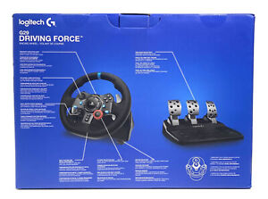Logitech G29 Driving Force Racing Wheel for PS5, PS4, PS3, PC (941-000110)